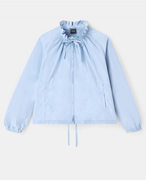 LINED TECHNICAL POLYESTER JACKET