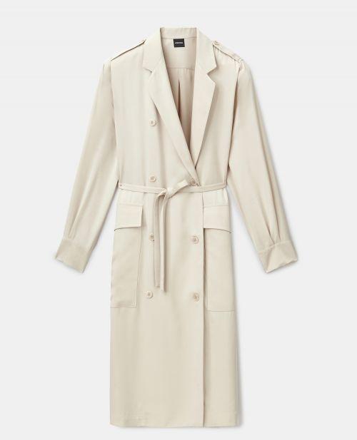 FLUID VISCOSE CHEMISIER DRESS