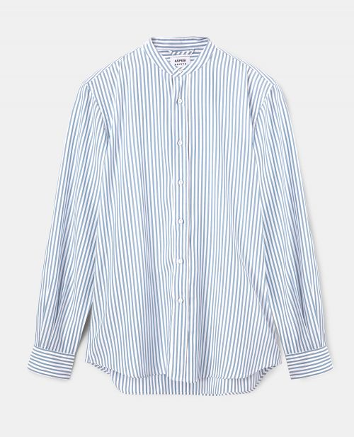 CAMICIA IN STRIPED TENCEL SOFT TOUCH