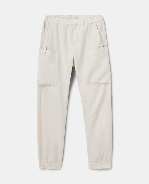 SLUB TWILL PANTS