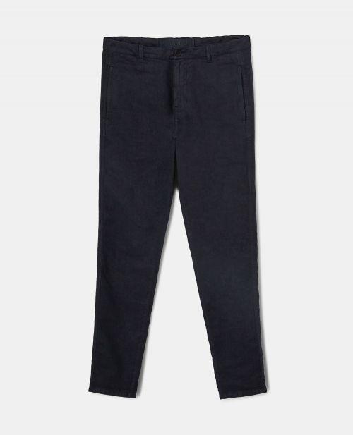 SLUB LINEN CHINO PANTS