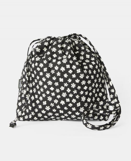 COTTON CANVAS BUCKET BAG