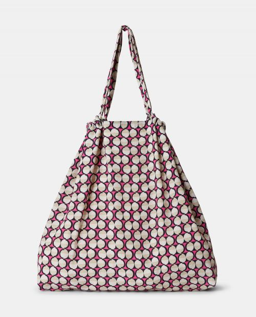 CREPE-DE-CHINE MAXI SHOPPER