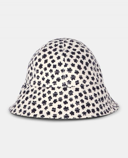 PRINTED COTTON CANVAS HAT