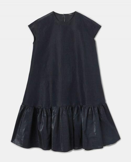 IRIDESCENT ORGANZA DRESS