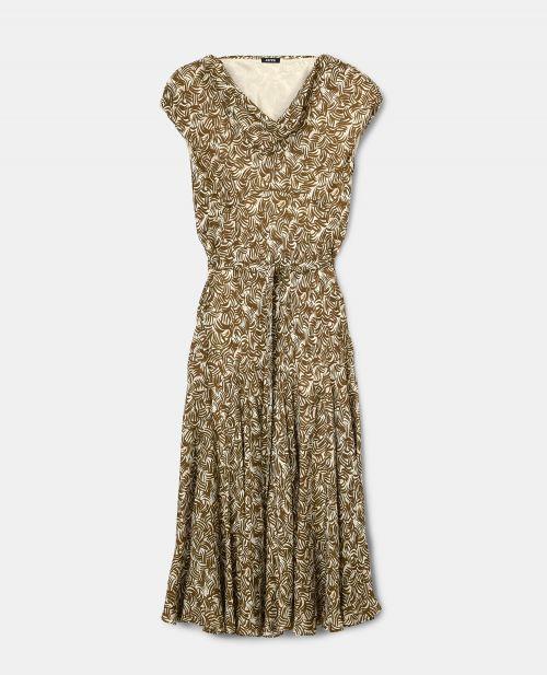 VISCOSE JACQUARD DRESS