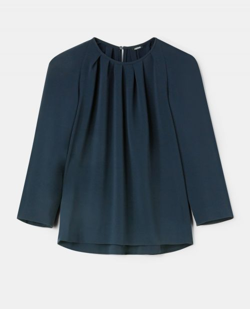 BLUSA IN CREPE CADY