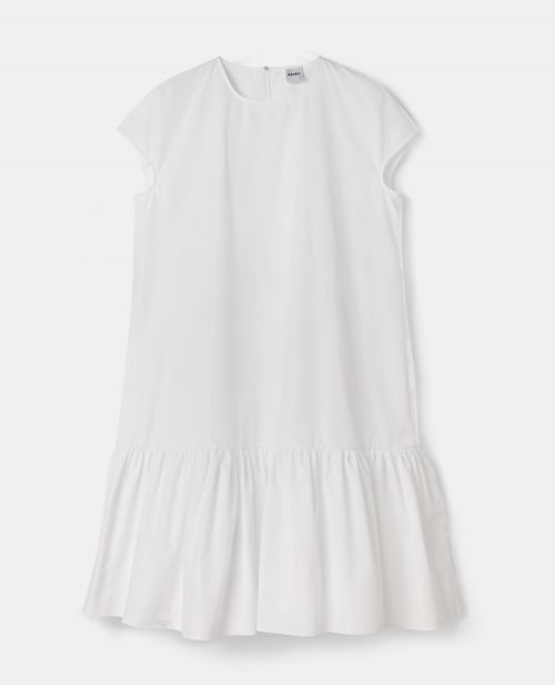 COTTON POPLIN DRESS