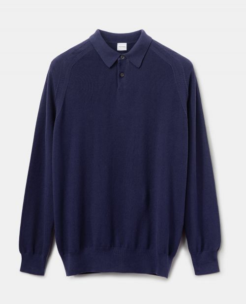 PURE COTTON YARN KNIT POLO