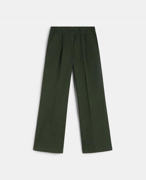 GABARDINE BOYFRIEND PANTS