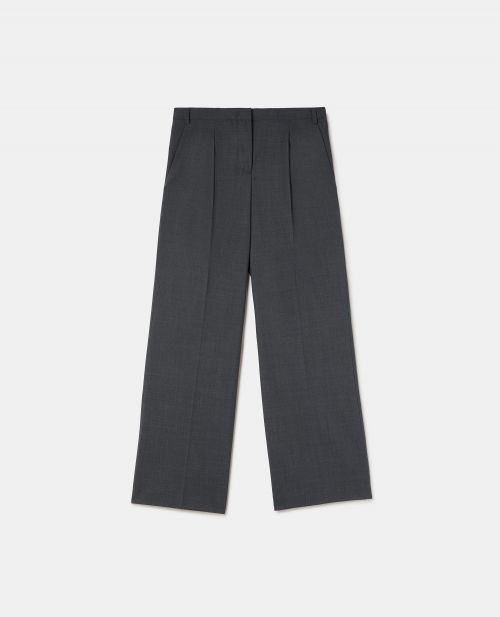 TECHNICAL WOOL PANTS