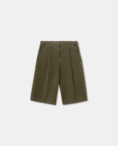 COTTON MOLESKIN PANTS