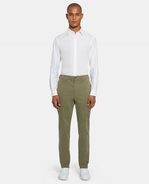 PANTALONE IN GABARDINA STRETCH