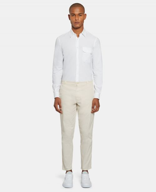 PANTALONE CHINO IN GABARDINA STRETCH