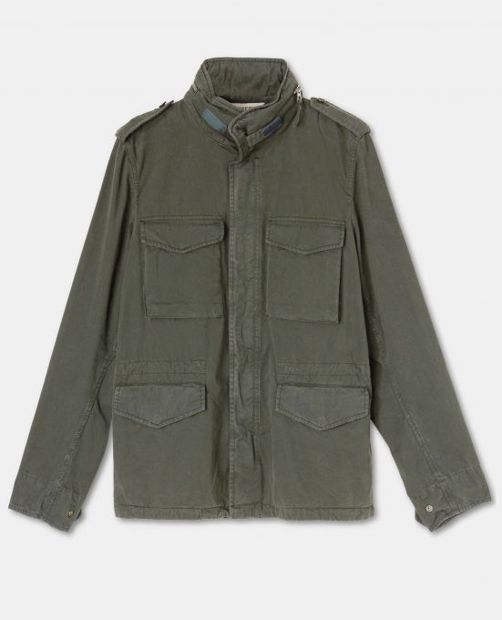 CAPO ICONICO MINI FIELD JACKET SFODERATA