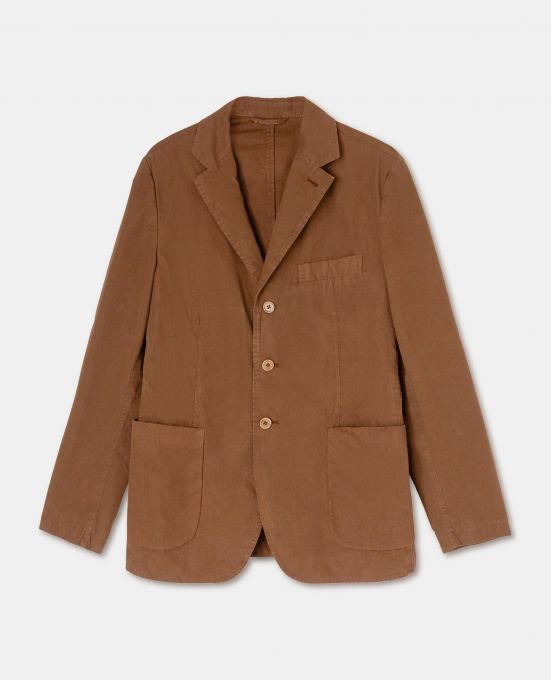 UNLINED COTTON CANVAS JACKET