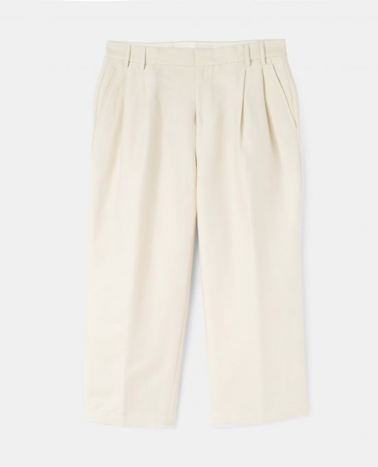 COTTON-NYLON CANVAS PANTS